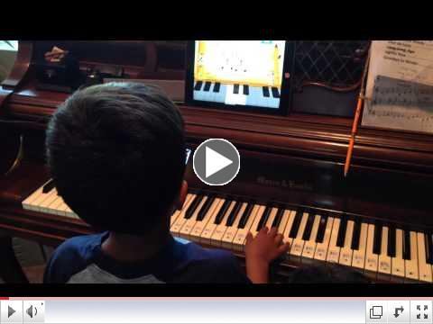 Video Sep 12, Piano Maestro Andrew