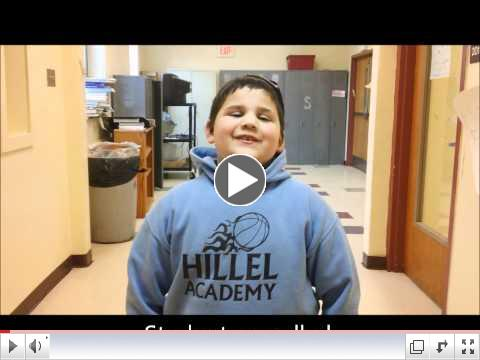 Hillel Academy of Pittsburgh thanks PEJE