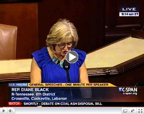 Black Speaks on Bill to End Fraudulent Obamacare Subsidies
