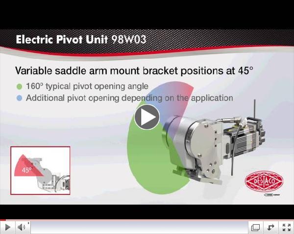 DeStaCo 98W Electric Pivot Unit