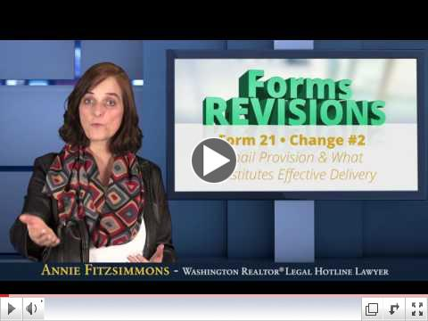 Form 21 - 2017 Forms Revisions