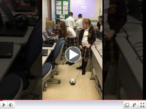 Our 2nd graders learn to program Finch Robots!
