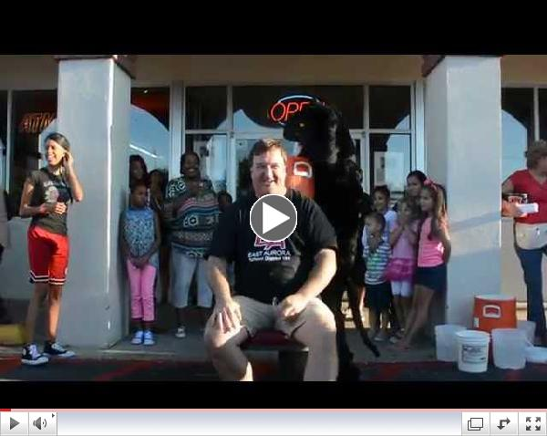 Dr. Mike Popp, Superintendent of D131, Takes ALS Ice Bucket Challenge
