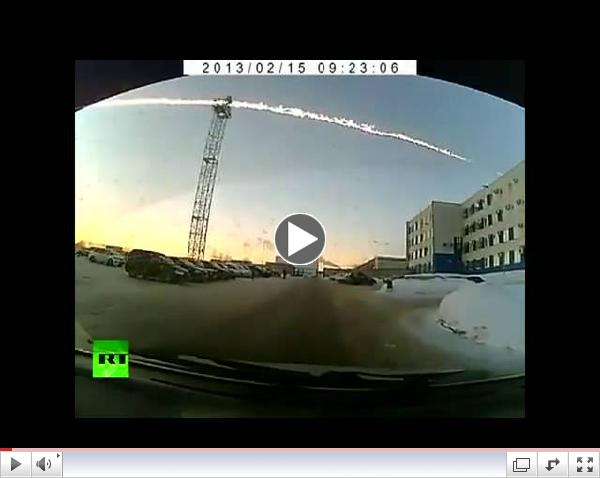Meteorite Crash In Russia 15 February 2013