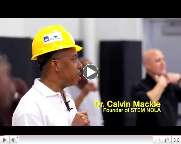 STEM NOLA presents STEM Saturdays with Dr. Calvin Mackie Kick-Off Promo