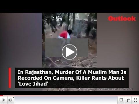 Murder of Muslim laborer in Rajasthan sparks outrage among