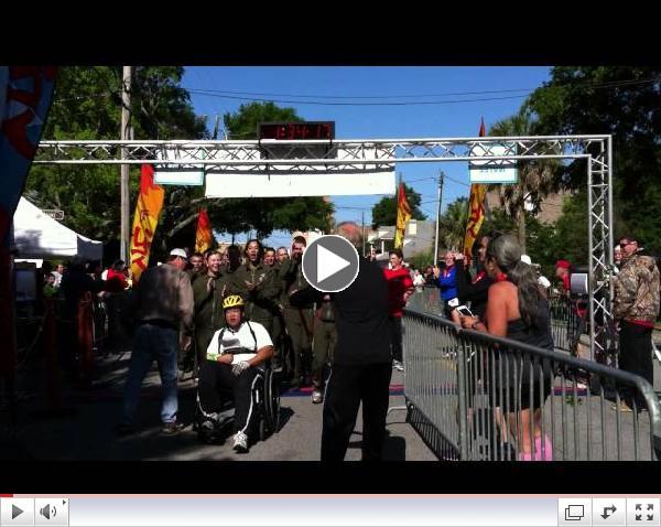 Fiesta 10K Wheelchair Finish