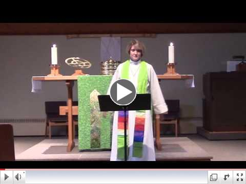 Pr. Christine's Sermon: The Sweetness of the LORD