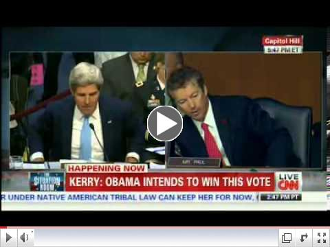 HEATED: Rand Paul Storms John Kerry, Gets