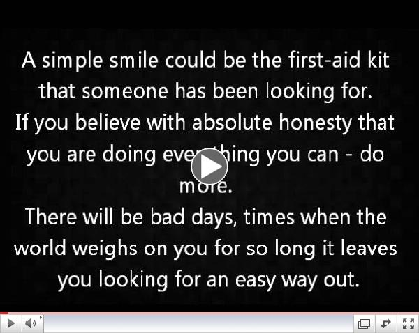 Instructions For A Bad Day - Shane Koyczan Poem