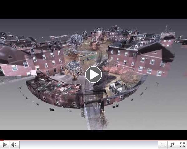 3D Laser Scanning - Tomah Veteran's Administration