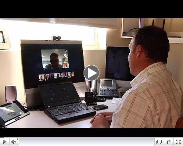 Teleworkers revamp home-work balance