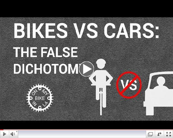 Bikes VS Cars: The False Dichotomy