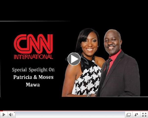 CNN profiles Patricia & Moses A. Mawa who are building a media empire