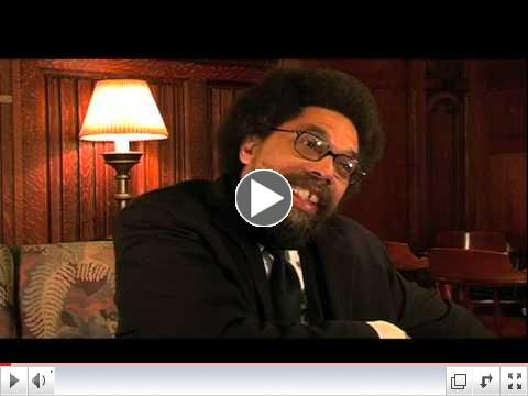 Dr. Cornel West in the new dvd release