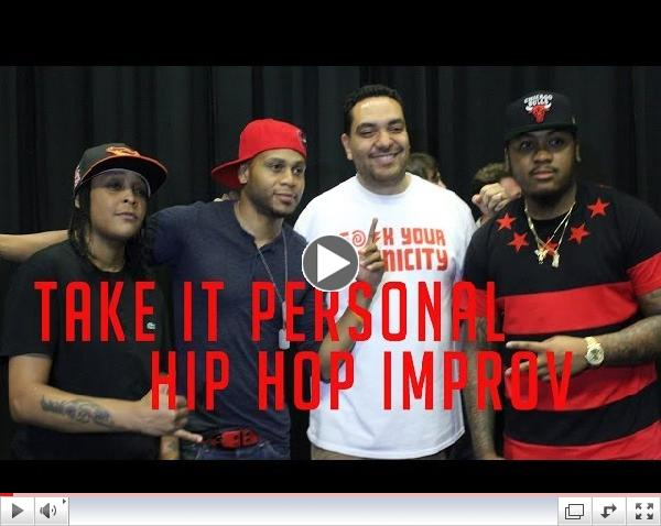 The Wire Cast on Take It Personal: Hip Hop Improv