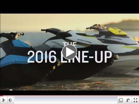 2016 Sea Doo Line Up