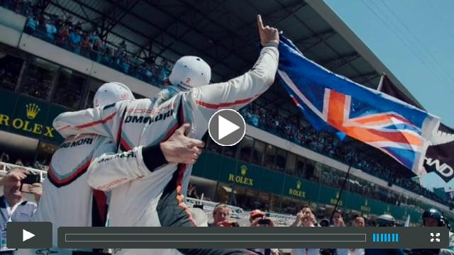 Le Mans Hattrick is done