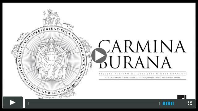 Ballard High School Winter Music Concert, December 2015 - Carmina Burana