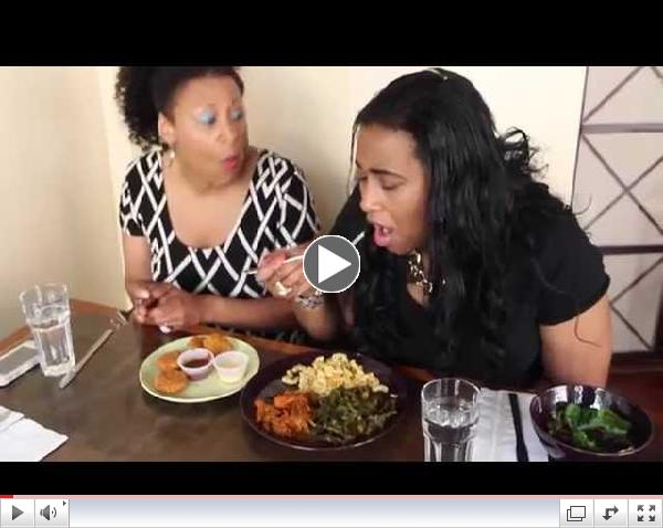 Vegan Soul Food at Seasoned Vegan on Let's Get Greedy!  #4 Food Review