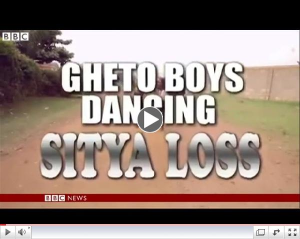 BBC News   Uganda Ghetto Kids in step with life changing dance project