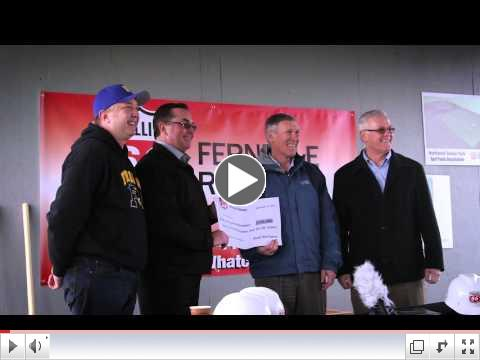 Phillips 66 Soccer Park Turf Upgrades Ground Breaking Video