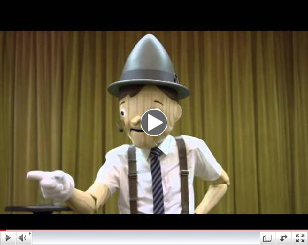 Funny GEICO TV Commercial : Pinocchio was a bad motivational speaker |  FunnyAds