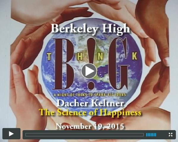 Berkeley High Think Big Dacher Kelter
