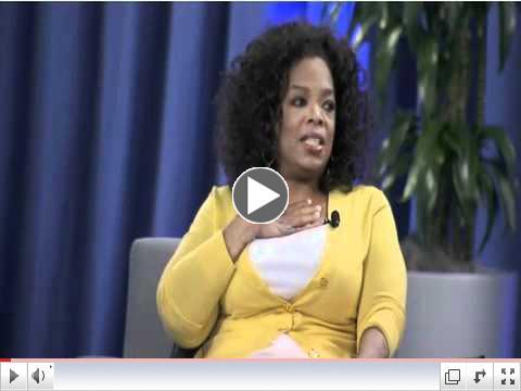 Oprah's Definition of Fear