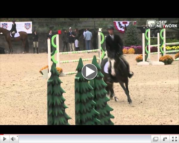 Watch Michael Hughes Win the Show Jumping Talent Search Finals East