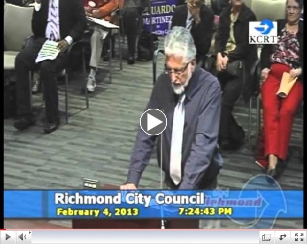 Eduardo Martinez at Council Meeting to Fill Counicl Vacancy