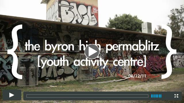 Byron Bay High / PermaBlitz / YAC / The Permaculture Challenge
