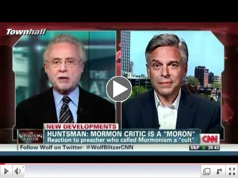 Huntsman: Mormon Critic Is A