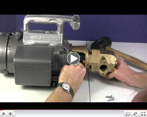 How To Assembly A Goldstream Monster Gear Pump - Utah Biodiesel Supply