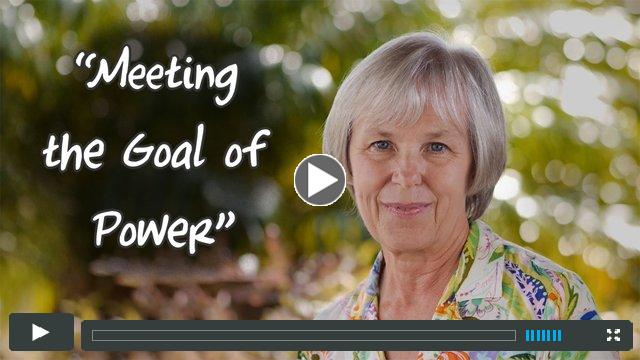 See It In Your Child: Meeting The Goal Of Power