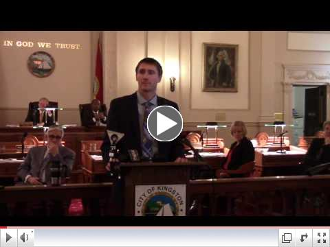 Video provided by KingstonCitizens.org and The Kingston News