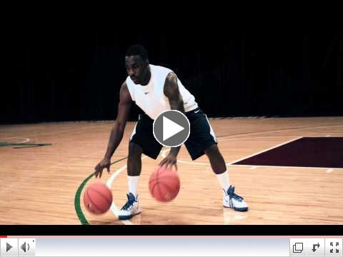 Nike Basketball Pro Training, Ty Lawson, Dribbling:  Warm Up