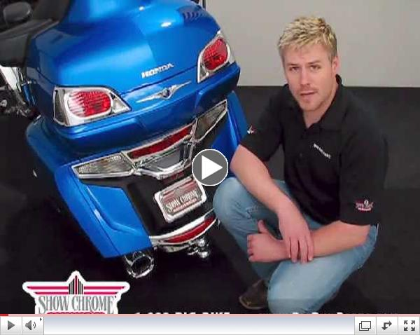 License Plate Cover Trim for GL1800