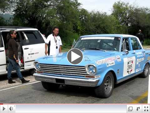 2009 La Carrera Panamericana Day 4 - Chevy Nova #395 Gerie Bledsoe