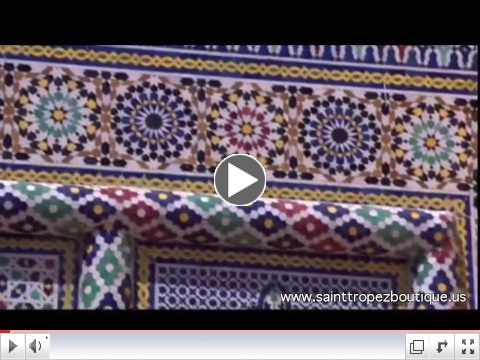Zellige tile: Glazed Moroccan ceramic tiles - Zillij - moorish tile - Islamic tiles - Moroccan tile