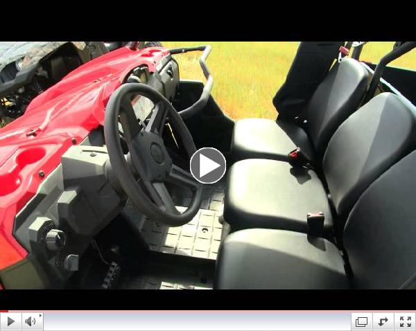 NEW 2013 Yamaha Viking Walk Through