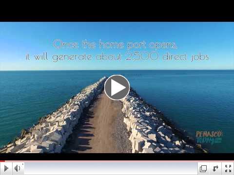 Drone Video of Home Port Progress