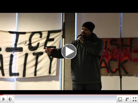 Mic Crenshaw at the 1st Annual International Hip Hop Activism Conference 2015