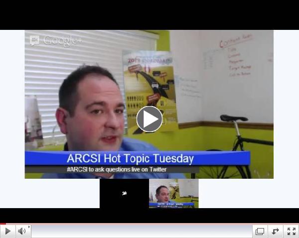 ARCSI Hot Topic Tuesday: Social Media Strategy