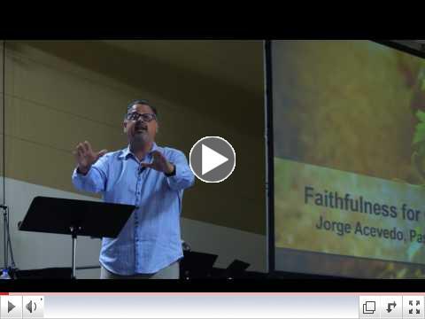Day One - Faithfulness to God Intro