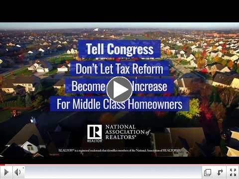 Take Action: Contact Your Representative and Senators About Tax Reform