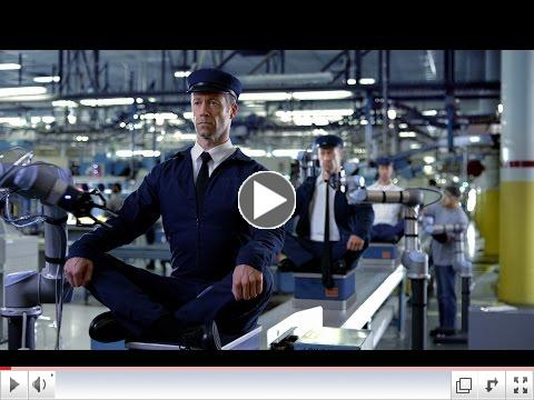 Maytag Man Commercial with UR Robots