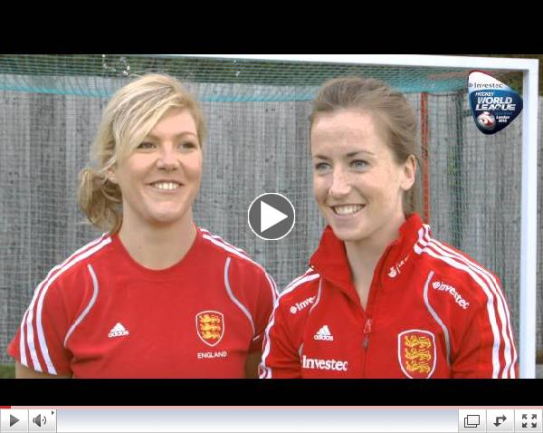 England Women's Hockey Team - Quick Fire Questions