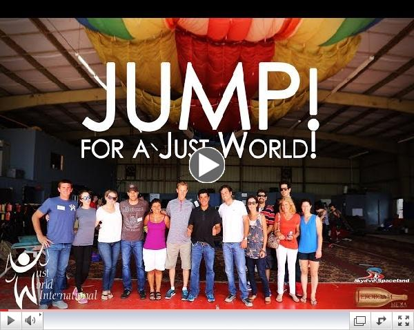 Jump for a Just World! Skydiving with World Renown