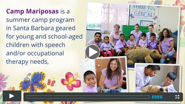Camp Mariposas Summer Program, Santa Barbara